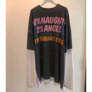Balenciaga - 値下げ!!Naughty Angel Tee VETEMENTS