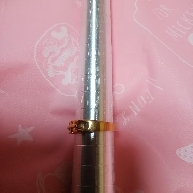 素敵なデザインのファッションリングです!!ゴールドカラーサイズ17号です!! レディースのアクセサリー(リング(指輪))の商品写真