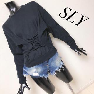 スライ(SLY)のSLY*トレーナー(トレーナー/スウェット)