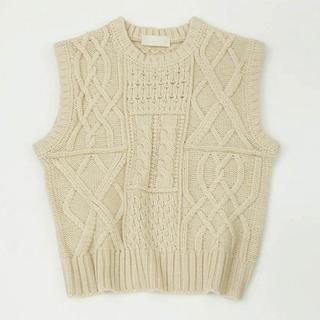 トゥデイフル(TODAYFUL)のCable Knit Vest(ベスト/ジレ)
