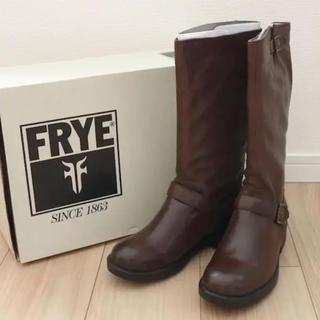 フライ(FRYE)の新品★FRYEフライ★VERONICA バイカーブーツ★エンジニアブーツ(ブーツ)