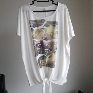 マウジー(moussy)のmoussy  Tシャツ  フリーサイズ(Tシャツ(半袖/袖なし))