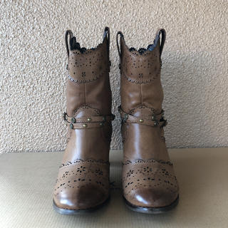 アクシーズファム(axes femme)のアクシーズファム ショートブーツ(ブーツ)