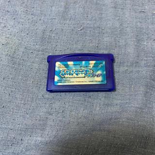 ゲームボーイアドバンス(ゲームボーイアドバンス)のポケットモンスター サファイア(家庭用ゲームソフト)