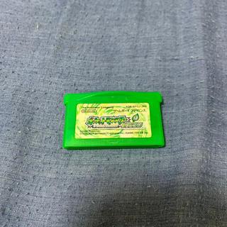ゲームボーイアドバンス(ゲームボーイアドバンス)のポケットモンスター リーフグリーン(家庭用ゲームソフト)