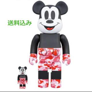 メディコムトイ(MEDICOM TOY)のBE@RBRICK BAPE® MICKEY MOUSE 100%&400%(その他)