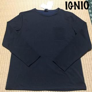 IGNIO  裏起毛  カットソー(Tシャツ/カットソー(七分/長袖))