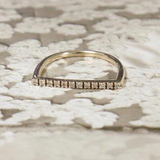 バーニーズニューヨーク(BARNEYS NEW YORK)のヒロタカ バー リング ダイヤ(リング(指輪))