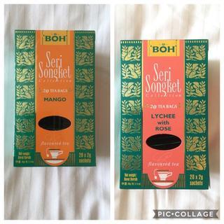 ボー(BOH)のBOH TEA☆ボーティー マンゴー・ライチ(茶)