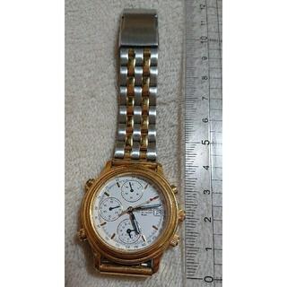 オリエント(ORIENT)のオリエント   腕時計/ヴィンテージ/クロノグラフ/稼働中 説明書有り(腕時計)