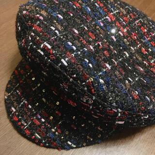 グレースコンチネンタル(GRACE CONTINENTAL)のグレースコンチネンタル インポート FERRUCCIO VECCHI  新作(ハンチング/ベレー帽)