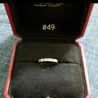 カルティエ(Cartier)のCartierマイヨンパンテールWGダイヤ#49(リング(指輪))