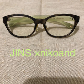 ニコアンド(niko and...)のJINS ×nikoand 眼鏡(サングラス/メガネ)