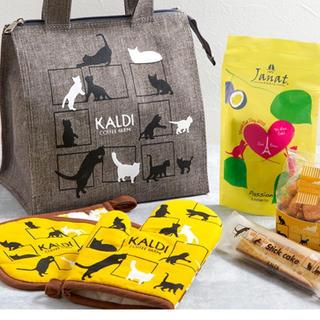 ♡ カルディ 限定 ネコの日バッグ ♡(収納/キッチン雑貨)