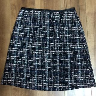シマムラ(しまむら)のヒロココシノ×しまむら ツイードスカート(ひざ丈スカート)