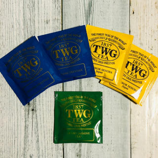【新品・未開封】TWG 3種類5パックお試しセット(茶)