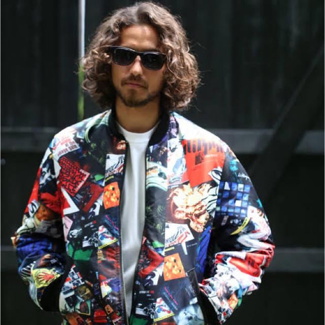 """APPLEBUM(アップルバム)のAPPLEBUM×68&Brothers MA-1 """"JAZZ""""  XL  メンズのジャケット/アウター(フライトジャケット)の商品写真"""