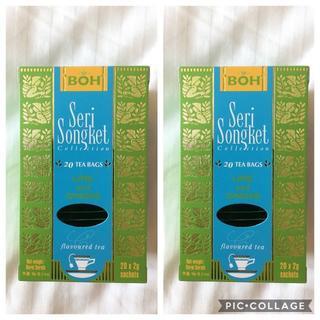 ボー(BOH)のBOH TEA☆ボーティー ライム&ジンジャー2箱(茶)