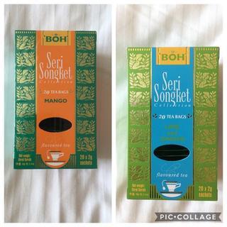 ボー(BOH)のBOH TEA☆ボーティー マンゴー・ライム&ジンジャー(茶)