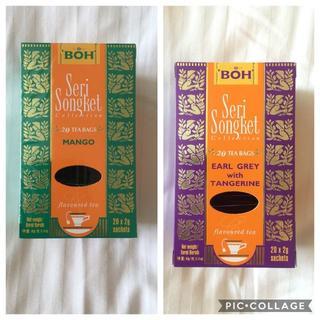 ボー(BOH)のBOH TEA☆ボーティー マンゴー・アールグレイ(茶)