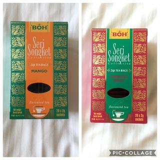 ボー(BOH)のBOH TEA☆ボーティー マンゴー・パッションフルーツ(茶)