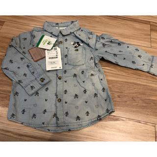 ザラキッズ(ZARA KIDS)のシャツ(98cm)ZARABABY、GAPワンピース(12〜18m)(ブラウス)