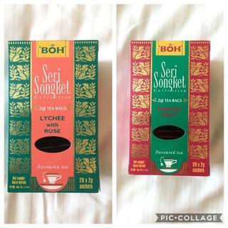 ボー(BOH)のBOH TEA☆ボーティー ライチ・パッションフルーツ(茶)