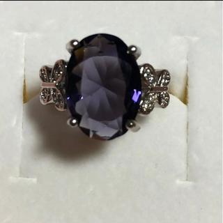 9号 レディース リング 紫(リング(指輪))