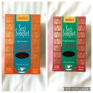 ボー(BOH)のBOH TEA☆ボーティー レモンWithマンダリン・パッションフルーツ(茶)