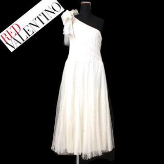 レッドヴァレンティノ(RED VALENTINO)の19ss 新品 RED VALENTINO  ワンピース ドレス(ロングワンピース/マキシワンピース)