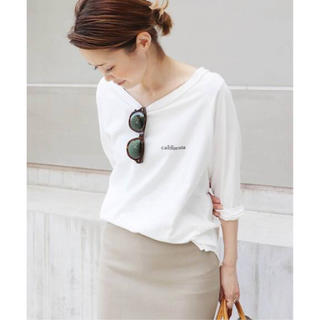 DEUXIEME CLASSE - ●新品タグ付●Deuxieme Classe●ラグランバックプリントTシャツ●