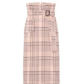 フレイアイディー(FRAY I.D)の美品 FRAY ID ハイウエストタイトスカート(ロングスカート)