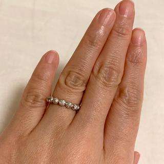 ミキモト(MIKIMOTO)のMIKIMOTOペルリータ ダイアモンドリング 6号(リング(指輪))