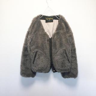 マウジー(moussy)のフェイクファーコート(毛皮/ファーコート)