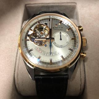 ゼニス(ZENITH)の【reiさま】 ZENITH クロノマスターエルプリメロ 18KRG(腕時計(アナログ))