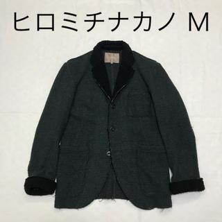 ヒロミチナカノ(HIROMICHI NAKANO)のヒロミチナカノ テーラードジャケット M 襟袖ボア(テーラードジャケット)