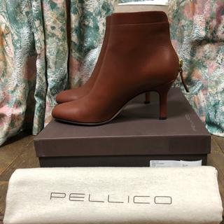 ペリーコ(PELLICO)の新品 未使用 TAXI【PELLICO/ペリーコ】 バックジップショートブーツ◆(ブーツ)