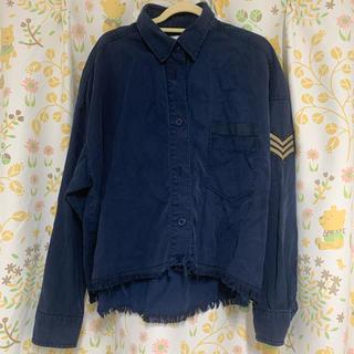 マウジー(moussy)のmoussy ミリタリーシャツ(シャツ/ブラウス(長袖/七分))