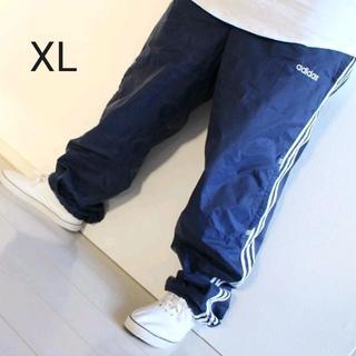 アディダス(adidas)のりえもん様専用。【極太】US アディダス  ナイロン パンツ 裏地付 XL(その他)