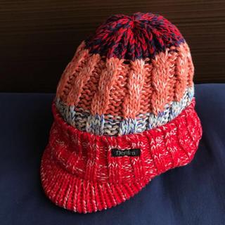 デニムダンガリー(DENIM DUNGAREE)の新品未使用 ◆ デニム&ダンガリー ニット帽 ◆ 秋冬(帽子)