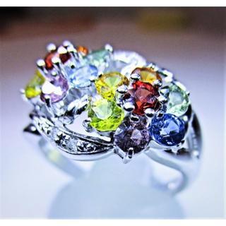 最終価格※天然カラーサファイヤ1.79ctダイヤ入りリング(指輪)(リング(指輪))