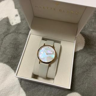 なばこ様専用 ALETTE BLANC アレットブラン 腕時計(腕時計)