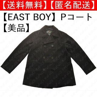 イーストボーイ(EASTBOY)のEAST BOY イーストボーイ Pコート アウター 制服 11号 美品 黒系(ピーコート)