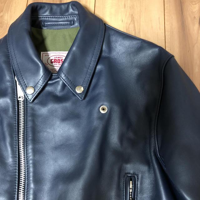 Lewis Leathers(ルイスレザー)のJAMES GROSE×TODD SNYDER JKT メンズのジャケット/アウター(レザージャケット)の商品写真
