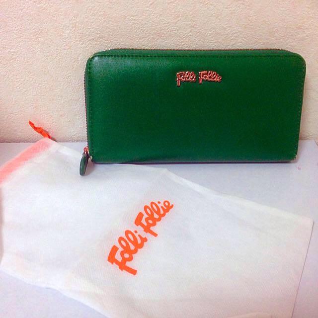 0c9ca9c05a6f Folli Follie(フォリフォリ)のフォリフォリ♡ 緑長財布 レディースのファッション