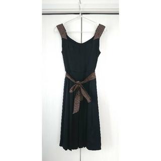 トゥモローランド(TOMORROWLAND)のBALLSEY ワンピース パーティードレス ボレロ付 38サイズ(ミディアムドレス)