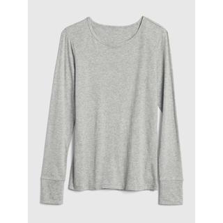 ギャップ(GAP)のGAP 長袖クルーネックtシャツ(Tシャツ(長袖/七分))