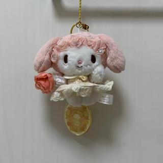 リズリサ(LIZ LISA)のLIZ LISA マイメロディ リズメロ マスコット キーホルダー 花柄 ピンク(キャラクターグッズ)
