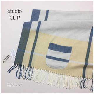 スタディオクリップ(STUDIO CLIP)のスタディオクリップ . タグ付き キルトピン チェック ストール(マフラー/ショール)