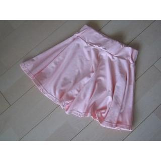 グレイル(GRL)のグレイル★GRL★フレアキュロットスカート★ピンク★小さめフリーサイズ(キュロット)